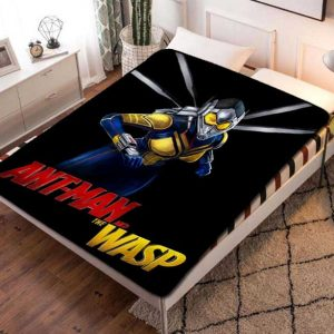 The Wasp Ant-Man Fleece Blanket Throw Quilt
