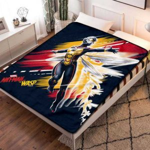 The Wasp Ant Man Movie Fleece Blanket Throw Bed Set