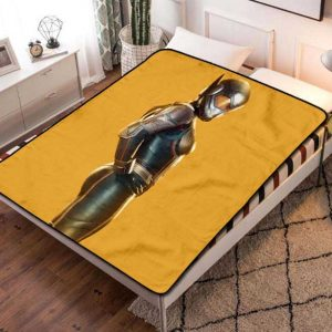 The Wasp Fleece Blanket Quilt