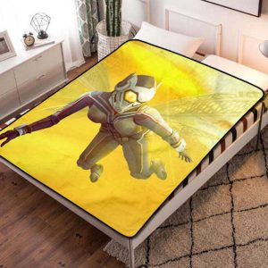 Chillder The Wasp Blanket. The Wasp Fleece Blanket Throw Bed Set Quilt Bedroom Decoration.