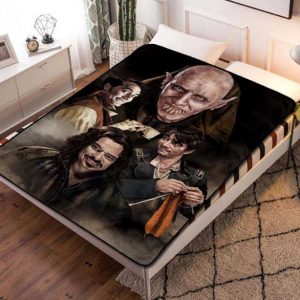 What We Do in the Shadows Fleece Blanket Throw Bed Set