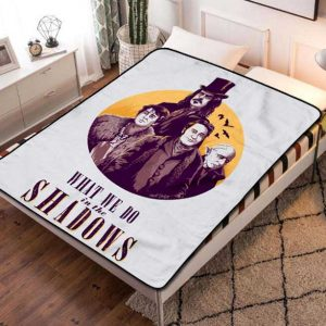 What We Do in the Shadows Series Fleece Blanket Throw Bed Set