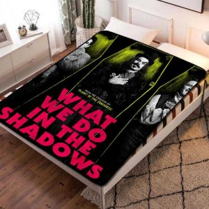 What We Do in the Shadows TV Shows Fleece Blanket Throw Bed Set
