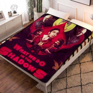 What We Do in the Shadows TV Shows Fleece Blanket Throw Quilt