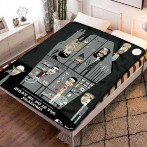 What We Do in the Shadows TV Series Fleece Blanket Throw Bed Set