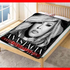 Anastacia Ultimate Collection Quilt Blanket Fleece Throw