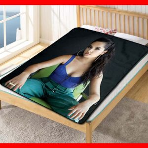 Becky G Singer Fleece Blanket Throw Quilt