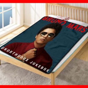 Bruno Mars #2613 Blanket Quilt Bedding Bedroom Set