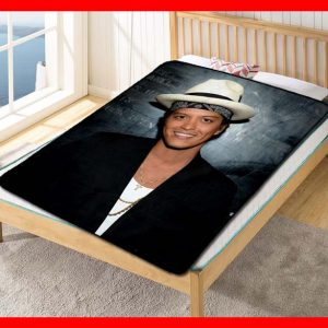 Chillder Bruno Mars Blanket. Bruno Mars Fleece Blanket Throw Bed Set Quilt Bedroom Decoration.