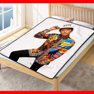 Bruno Mars #2616 Blanket Quilt Bedding Bedroom Set