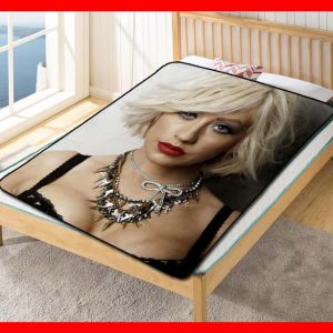 Christina Aguilera #2047 Blanket Quilt Bedding Bedroom Set