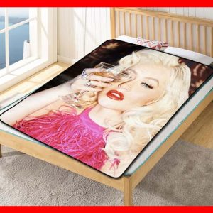 Christina Aguilera #2050 Blanket Quilt Bedding Bedroom Set