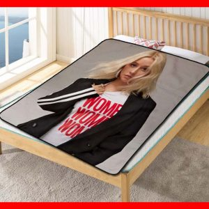 Christina Aguilera #2053 Blanket Quilt Bedding Bedroom Set
