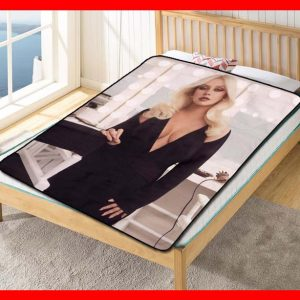 Christina Aguilera #2055 Blanket Quilt Bedding Bedroom Set