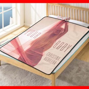 Christina Aguilera Your Body Quilt Blanket Fleece Bed Set