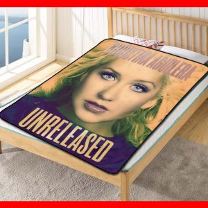 Christina Aguilera #2056 Blanket Quilt Bedding Bedroom Set