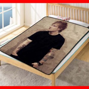 Ed Sheeran Singer Quilt Blanket Fleece Bed Set