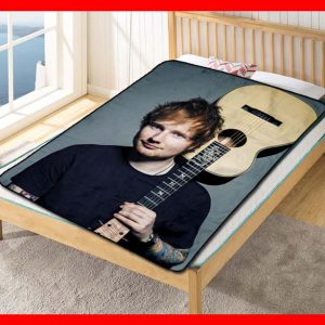 Ed Sheeran X Photoshoot Quilt Blanket Fleece Throw