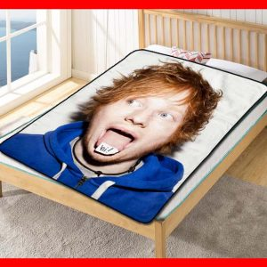 Ed Sheeran #2654 Blanket Quilt Bedding Bedroom Set