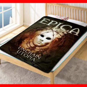 Epica Unchain Utopia Quilt Blanket Fleece Throw