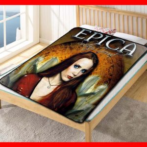 Epica Solitary Ground Quilt Blanket Fleece Bed Set