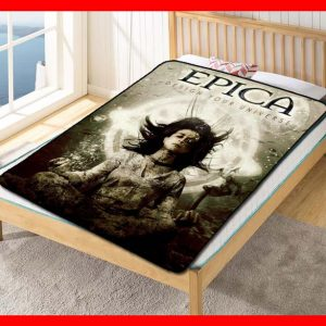 Epica Album Band #1545 Blanket Quilt Bedding Bedroom Set