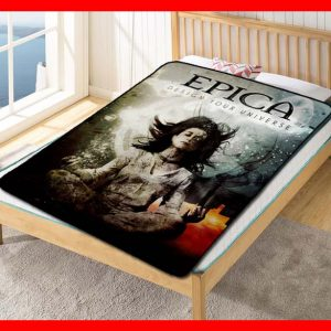 Epica Rock Fleece Blanket Throw Quilt
