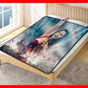Evanescence Synthesis Quilt Blanket Throw Fleece