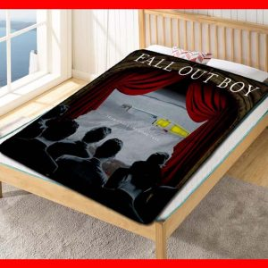 Fall Out Boy From Under the Cork Tree Quilt Blanket Throw Fleece