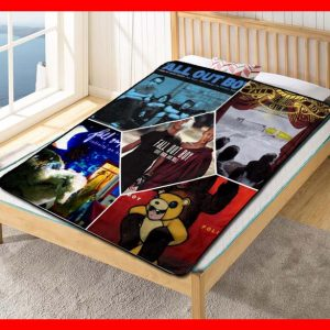 Chillder Fall Out Boy Blanket. Fall Out Boy Fleece Blanket Throw Bed Set Quilt Bedroom Decoration.