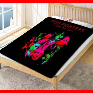 Foo Fighters Rock Fleece Blanket Throw Quilt