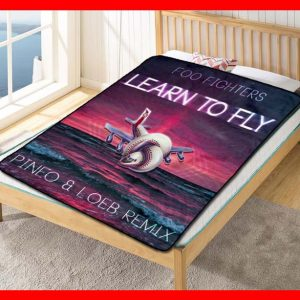 Foo Fighters Song Cover Fleece Blanket Throw Quilt