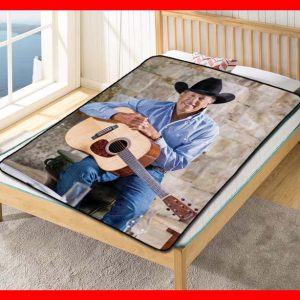 George Strait #2694 Blanket Quilt Bedding Bedroom Set