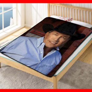 George Strait #2695 Blanket Quilt Bedding Bedroom Set