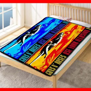 Guns N' Roses Use Your Illusion Quilt Blanket Throw Fleece