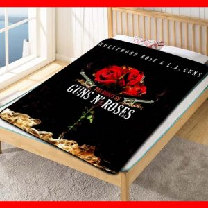 The Roots of Guns N' Roses Quilt Blanket Fleece Throw