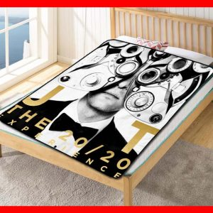 Justin Timberlake The 20/20 Experience Fleece Blanket Throw Quilt