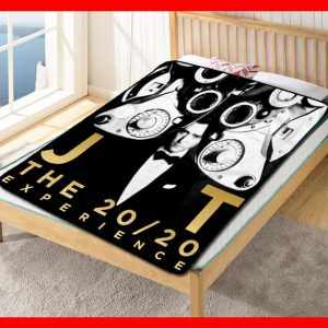 Justin Timberlake The 20/20 Experience Quilt Blanket Fleece Bed Set
