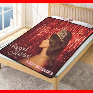 Kacey Musgraves Pageant Material Fleece Blanket Throw Quilt