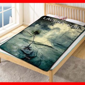 Lacuna Coil In a Reverie Quilt Blanket Fleece Throw