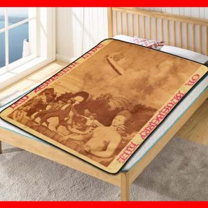 Led Zeppelin Album Band #1600 Blanket Quilt Bedding Bedroom Set