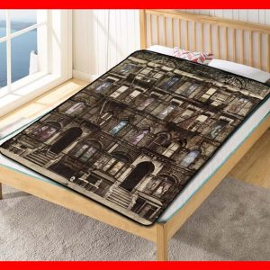 Led Zeppelin Album Band #1606 Blanket Quilt Bedding Bedroom Set