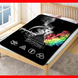 Led Zeppelin Album Band #1602 Blanket Quilt Bedding Bedroom Set