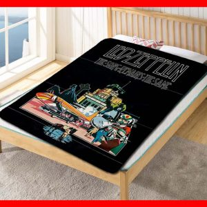 Led Zeppelin The Song Remains the Same Quilt Blanket Fleece Bed Set