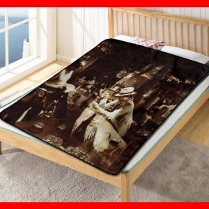 Led Zeppelin Album Band #1605 Blanket Quilt Bedding Bedroom Set