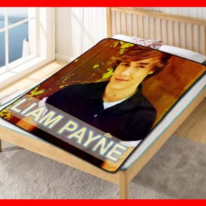 Liam Payne Young Fleece Blanket Throw Quilt