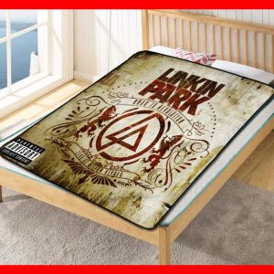Linkin Park Road to Revolution Quilt Blanket Throw Fleece