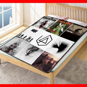 Linkin Park #1610 Blanket Quilt Bedding Bedroom Set