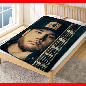 Luke Combs #2820 Blanket Quilt Bedding Bedroom Set