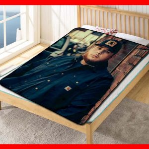 Luke Combs Quilt Blanket Fleece Throw